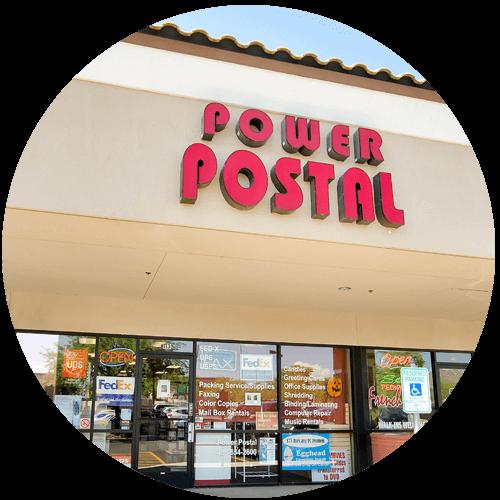 Welcome to Power Postal at Las Sendas in Mesa, AZ